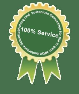 Schrottankauf Hattingen - 100% Service